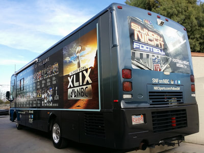 bus wrapped for ads